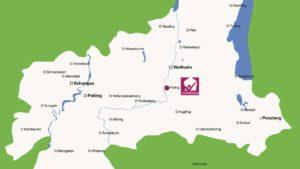Karte - Versorgungsgebiet Palliahome
